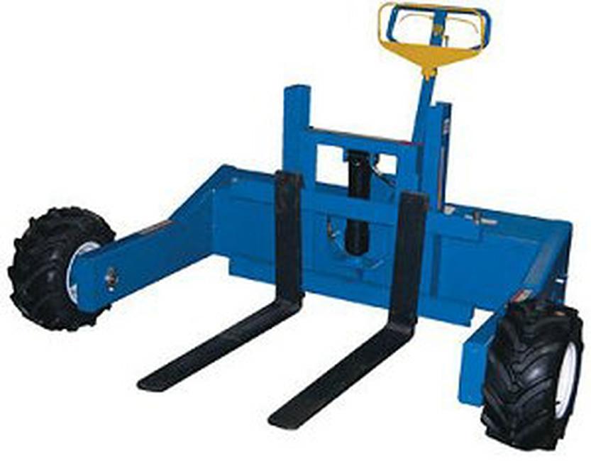 Hand Trucks R Us Gas Powered All Terrain Pallet Truck